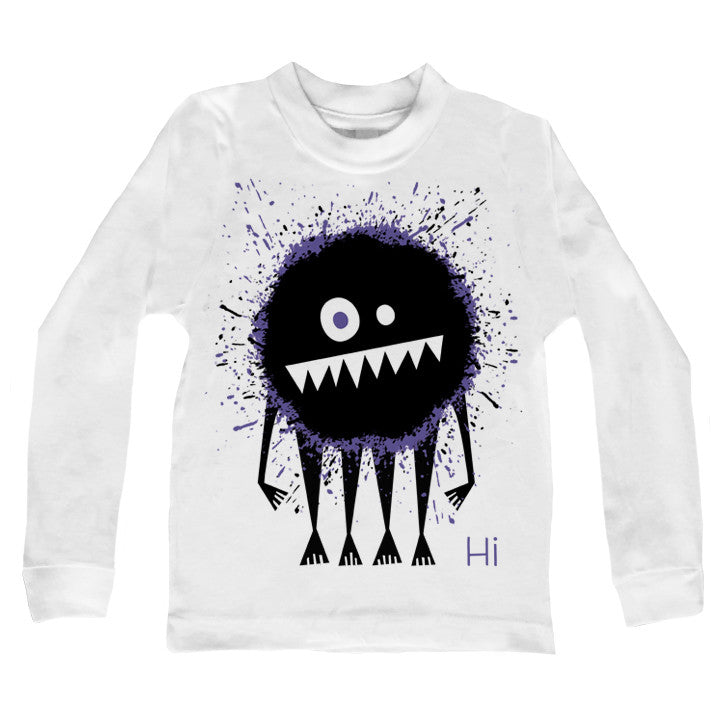 Monster Guy Long Sleeve Tee