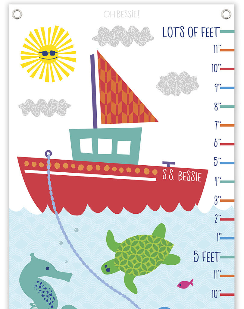 Under the Sea Growth Chart