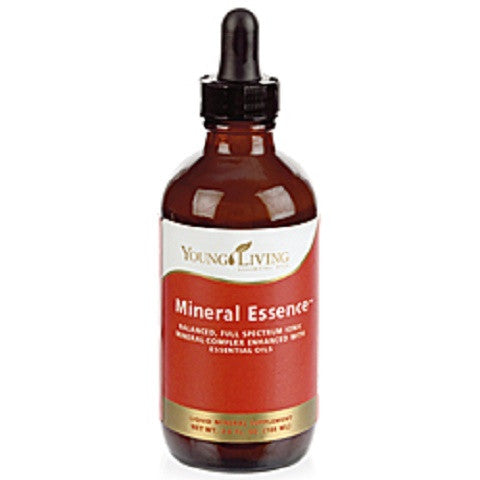 Samala Cosmetics Young Living health and beauty products - Mineral Essence, ionic mineral supplement that is organic and has more than 60 trace minerals