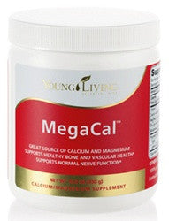 Samala Cosmetics Young Living health and beauty products - MegaCal, a wonderful source of calcium, magnesium, manganese and Vitamin C