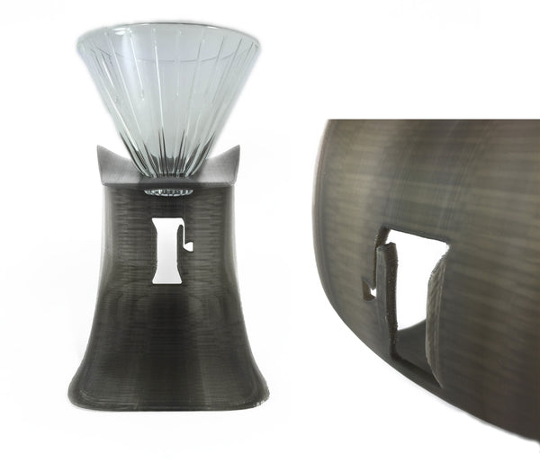 Pour Over Stand with logo