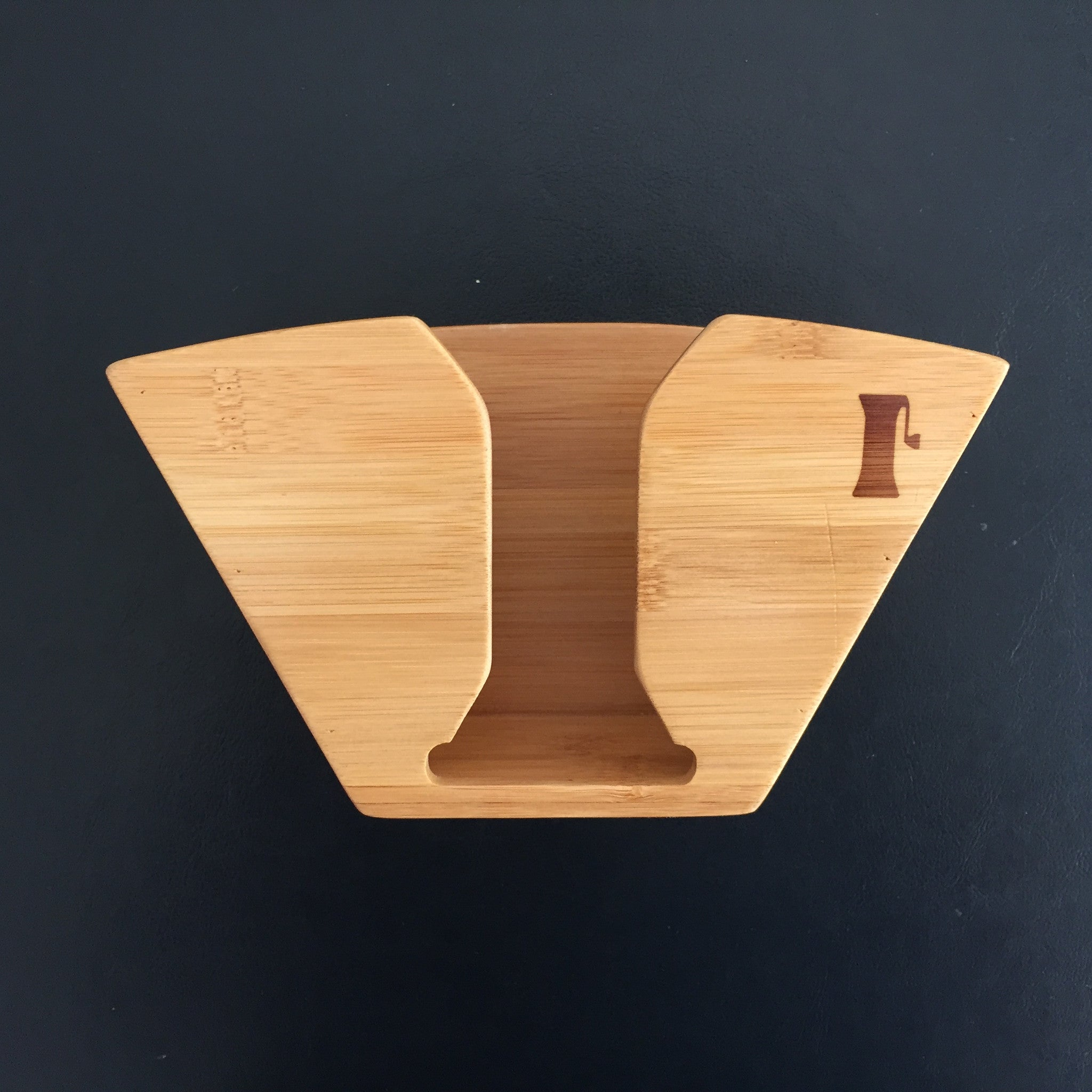 Bamboo Coffee Filter Holder by Handground