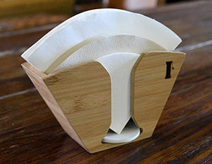 HOLIDAY SALE: Bamboo Coffee Filter Holder by Handground