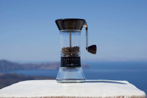 (Europe Only) Handground Precision Manual Coffee Grinder: Black
