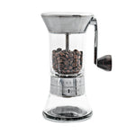 Handground Precision Manual Coffee Grinder: Nickel