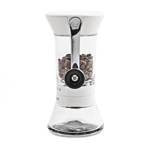 Handground Precision Coffee Grinder: White