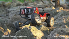 Cross-RC UT4 Rock Crawler/Racer 4wd kit 1/7 Scale (Free Driver)