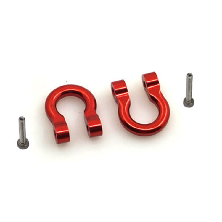 Traxxas TRX-4 Alloy Shackle Set (Red)