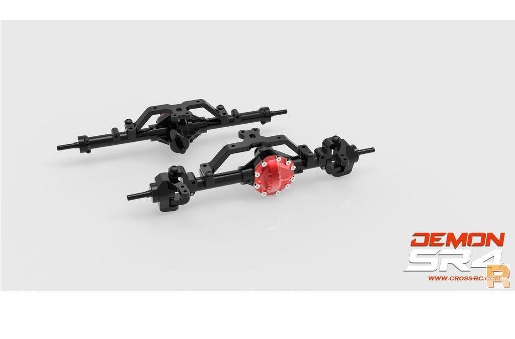 Demon G1 Alloy Axle Case Set (New Version)
