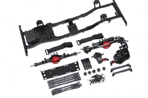 Landrover D90 Metal Chassis (Without Shocks, Wheels and Tires) for Defender D90 Body
