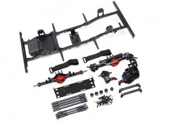 D90 Chassis Kit (Without Shocks Wheels Tires) for TRC Raffee D90 Defender Body