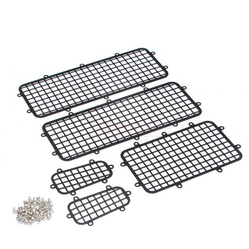 Traxxas TRX-4 Stainless Steel Side Window Mesh Guard Protective Net 1 Set