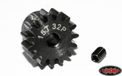 RC4WD 15t 32p Hardened Steel Pinion Gear