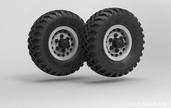GC4 Tyre Set Pair Without Wheels