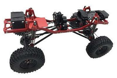 SCX 10 Full Alloy Chassis Kit 313mm Wheelbase