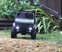 Mercedes Benz Unimog Open Bed Body Kit 1/10 Scale