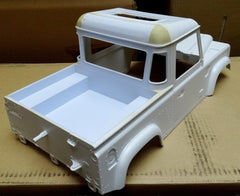 Landrover Pick Up Body 1/10 Scale
