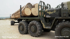 Cross-RC T835 Logging Trailer For The BC8 Mammoth