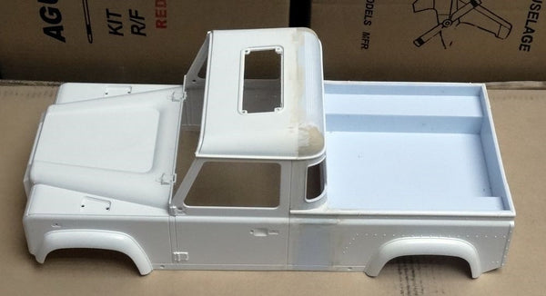 Build A Jeep >> Land Rover Pick Up Truck Body Shell 1/10 Scale For 313mm ...