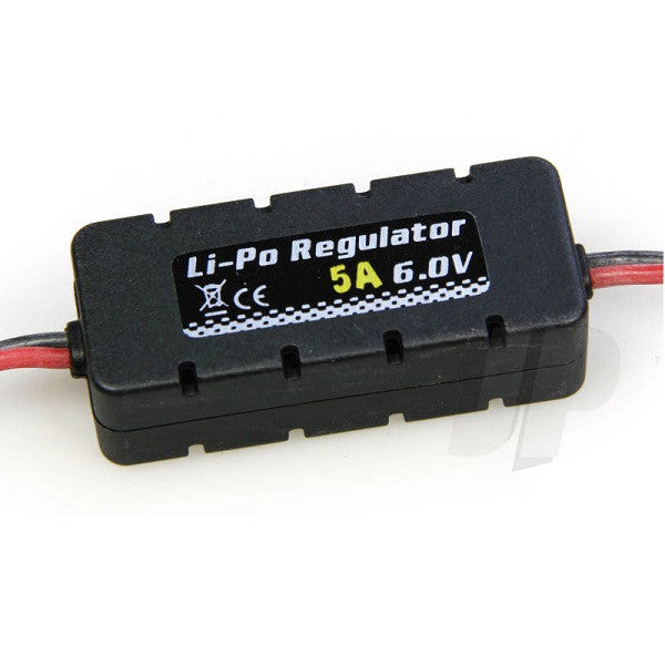 LiPo BEC Regulator 6.0 Volt (5 amp)