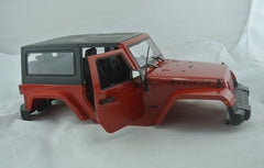 Jeep Wrangler Body Set 1/10 Scale
