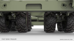 Cross-RC T247 Transporter Trailer For The BC8 Mammoth