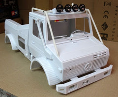 Mercedes-Benz Unimog 1/10 Scale RALLY TRUCK Plastic Body Shell NEW!!!