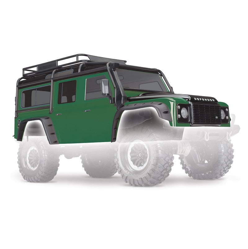 Traxxas TRX-4 Body Set Complete (Green)