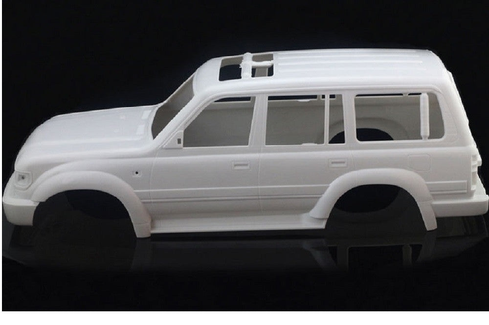 Toyota Land Cruiser LC80 1/10 313mm Hard Plastic Body Shell