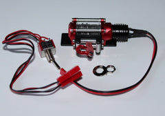 1/10 Scale Winch Black/Red