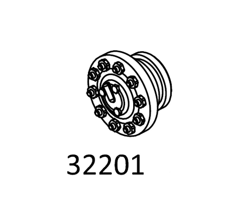 Centre Wheel Hub For Cross RC Steel Wheels
