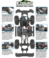 Element RC Enduro Trail Truck Senduro RTR
