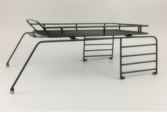 Metal Luggage Tray Roof Rack for 313mm Wheelbase Jeep Hard Body
