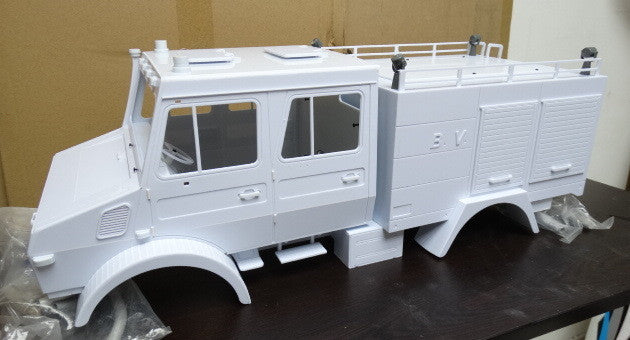 Racing Fire Suits >> Mercedes-Benz Unimog Double Cab 1/10 Scale 4x4 FIRE TRUCK ...