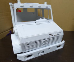 Mercedes-Benz Unimog Full Double Cab Plastic Body1/10 Scale