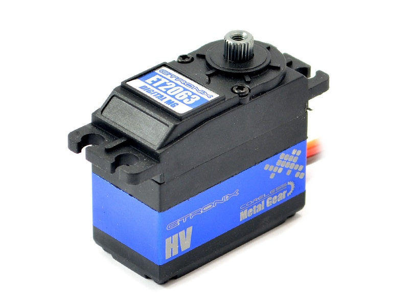 Etronix 32.3KG/0.10S Std Digital High Voltage Servo Metal Gear