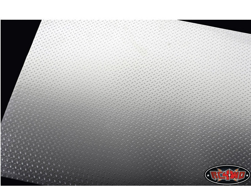 RC4WD Scale Diamond Plate Aluminum Sheets (2)