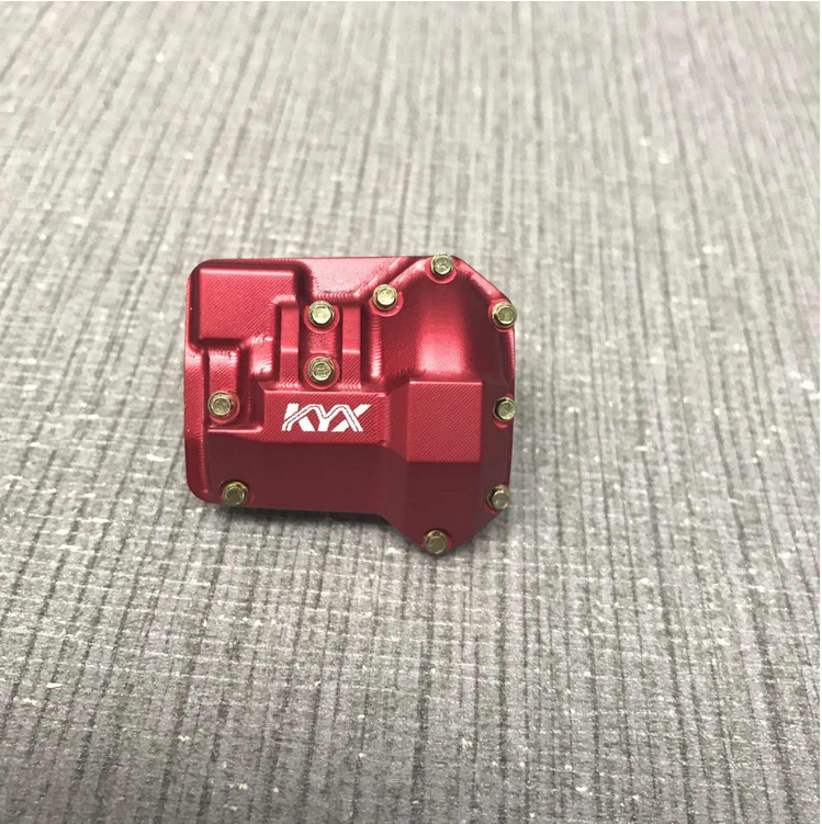 Traxxas TRX-4 Alloy Diff Housing (Red)