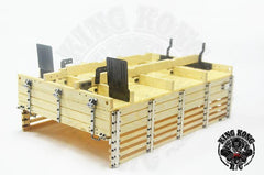 King Kong RC Wooden & Hard Plastic Bed KIT Set for CA30 312mm x 200mm x 110mm