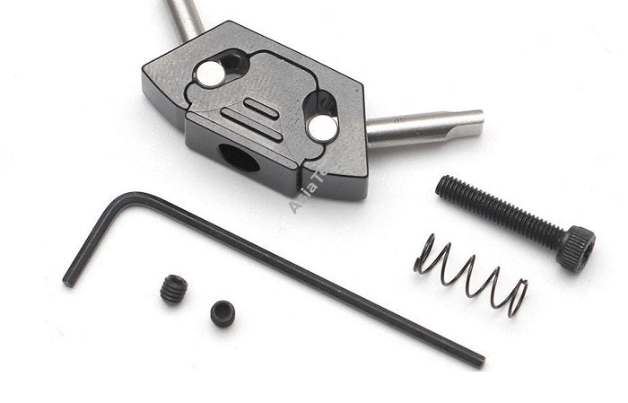 """Tool Free"" Aluminum Quick Release Latch for Boom Racing BRX01 Body"