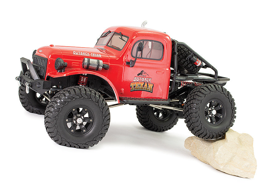 FTX OUTBACK TEXAN 4X4 RTR 1:10 TRAIL CRAWLER -Red