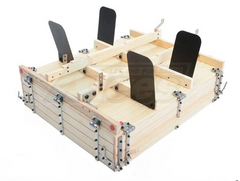 King Kong RC Wooden & Hard Plastic Bed KIT Set for ZL-130II