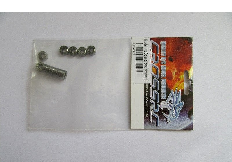 Gearbox Bearing Set Cross rc 2 Speed