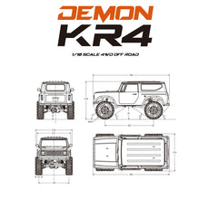 Cross-RC KR4 Demon B Version Kit