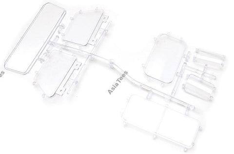 Windows Set N Part for TRC D90 Pickup Truck Hard Body