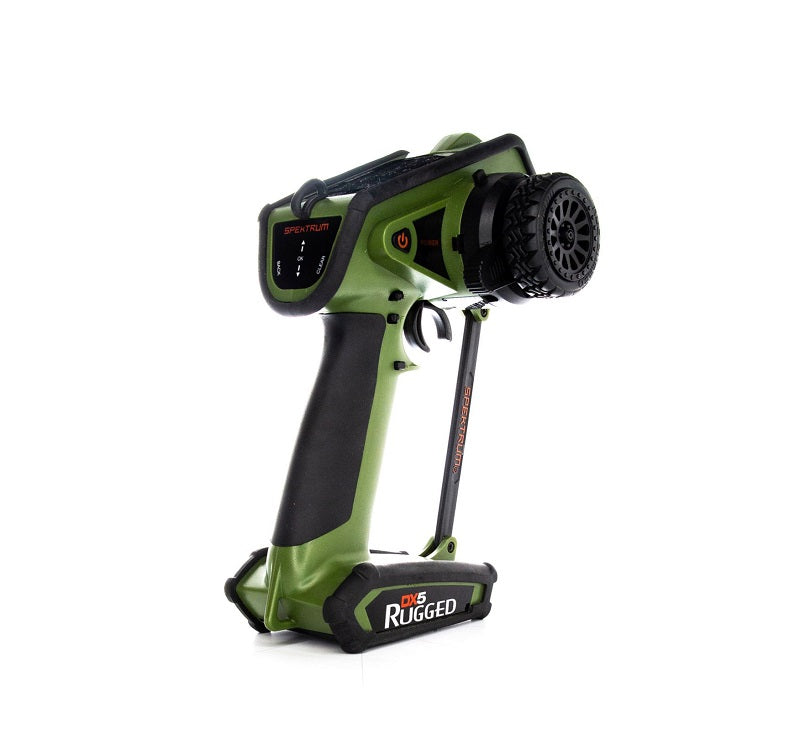 Spektrum DX5 Rugged 5ch DSMR Tx Only. Green