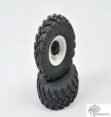 Steel Wheel/Tyre Set 1.9 KC And XC Series Trucks