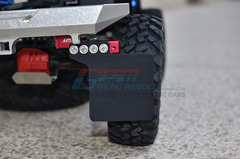 Mud Flap For SCX10 III Jeep - 50Pcs Set Red for Axial SCX10 III.