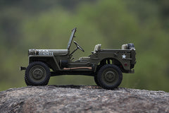 ROC Hobby 1/6TH Willys Jeep Military Scaler RTR