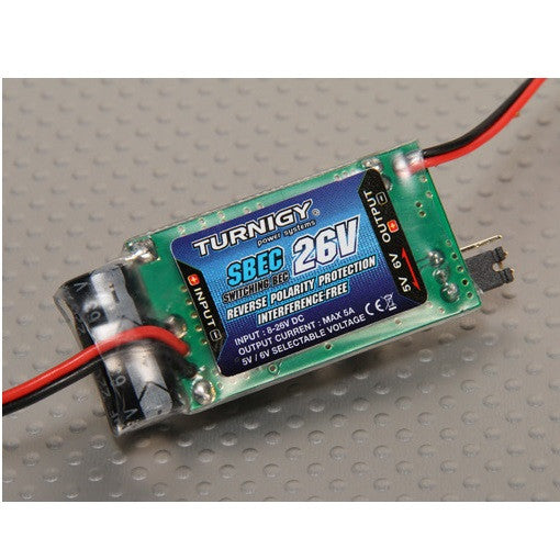 Lipo SBEC 5A (8-26v) Adjustable Voltage Regulator